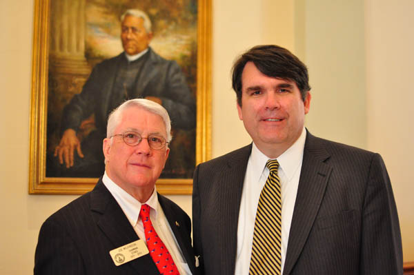 State Rep. Joe Wilkinson and Public Service Commissioner Chuck Eaton