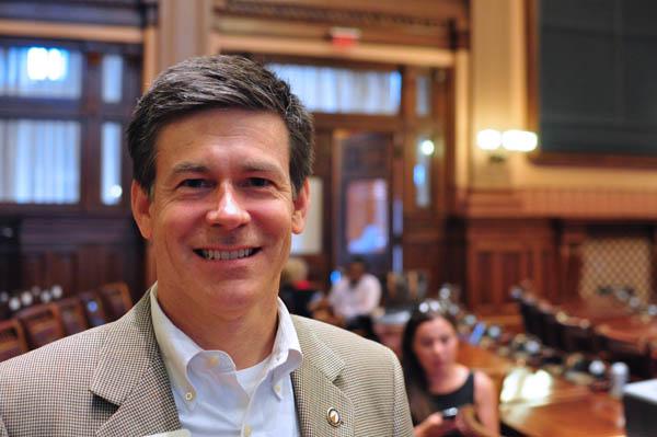 Republican State Representative Brett Harrell