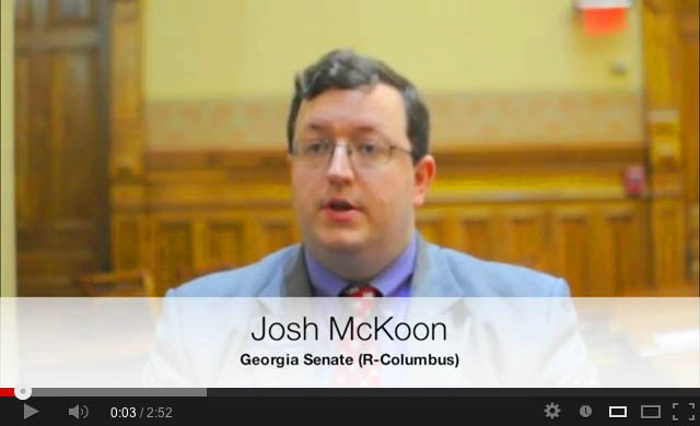 Josh McKoon GaPundit Ethics Video
