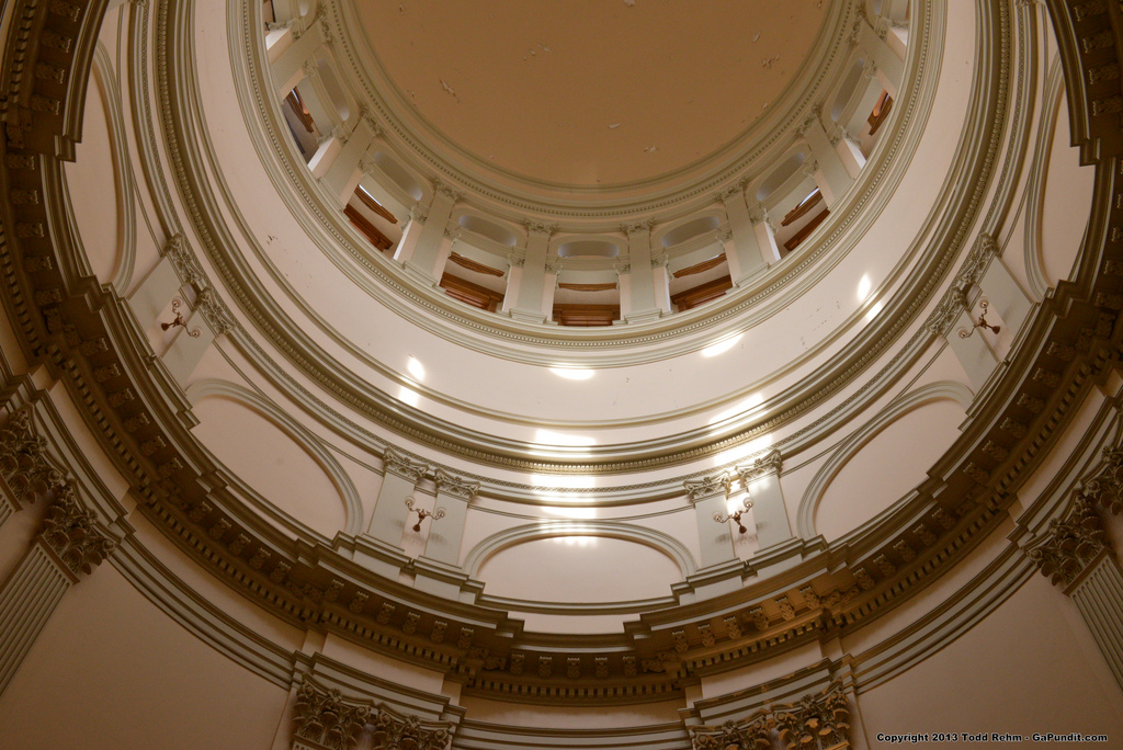 Capitol Dome inside