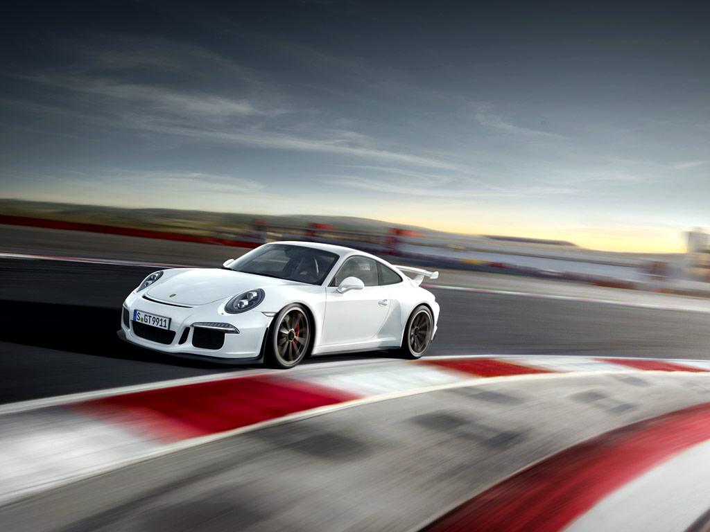 2014 Porsche 911 GT3 White