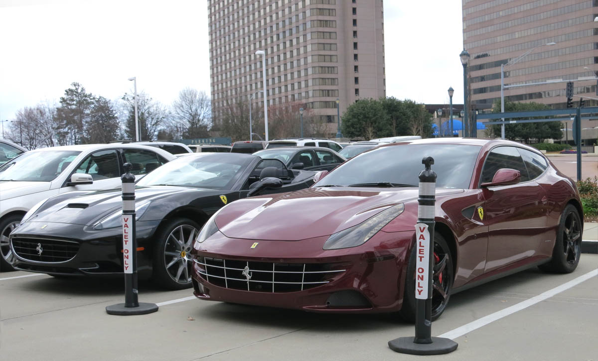 Ferrari California and FF 1