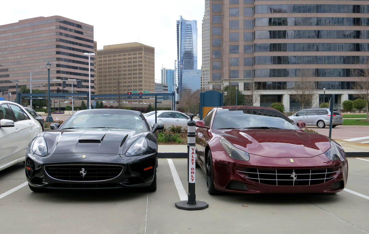 Ferrari California and FF Front Smiles