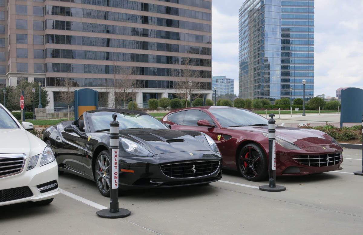 Ferrari California and FF Front