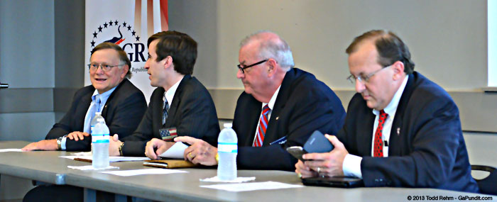 2013 GaGop Chair Debate