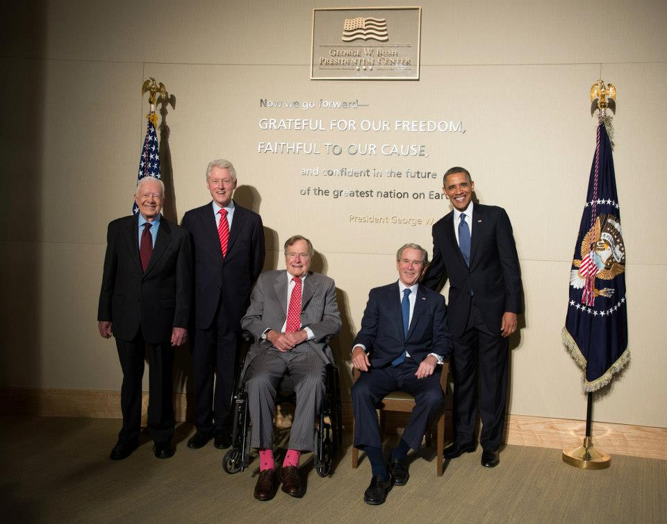 Photos George W Bush Presidential Center Dedication Georgia