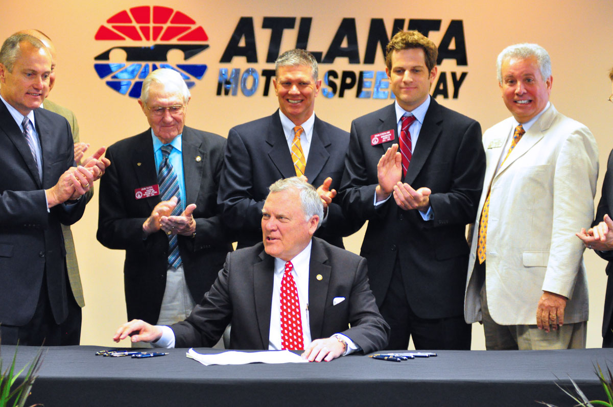 Governor Deal AMS Bill Signing Group