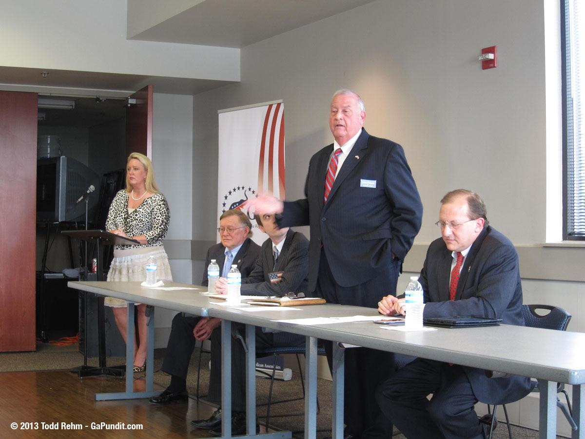 John Padgett Speaking at GA GOP Debate