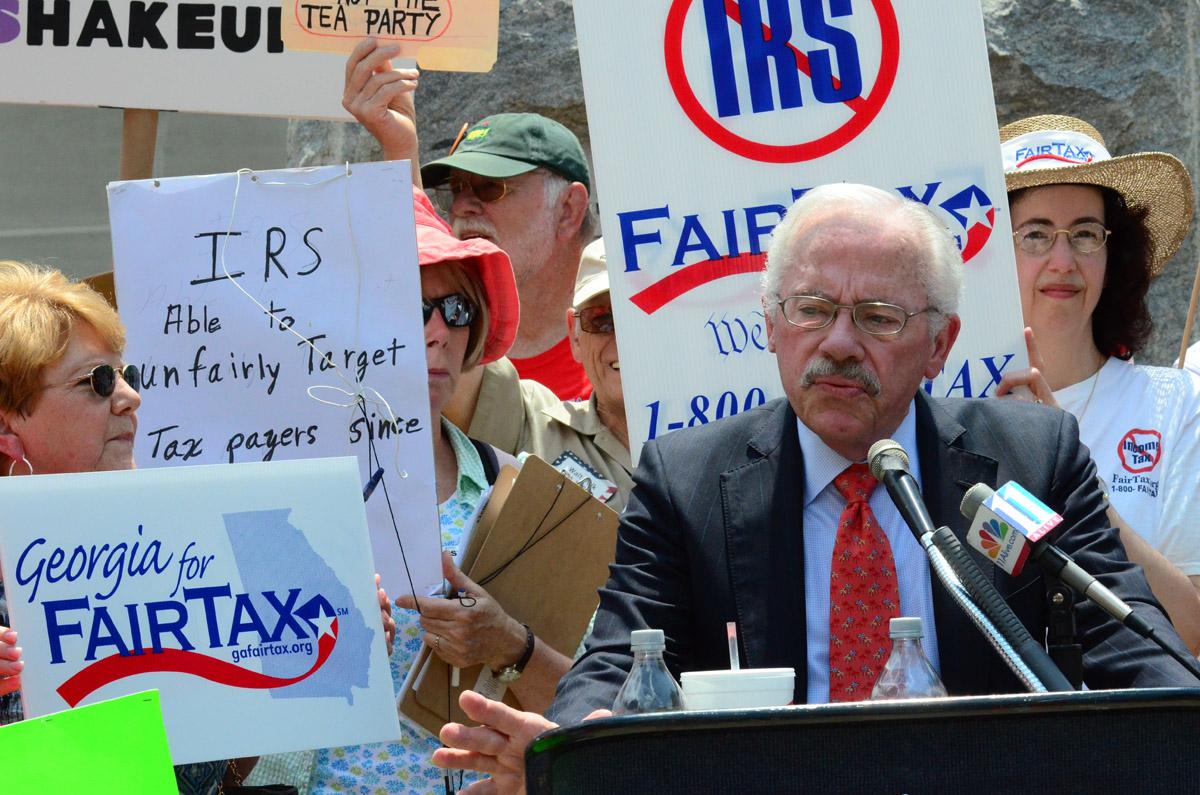 Bob Barr Debbie Dooley Tea Party Rally2