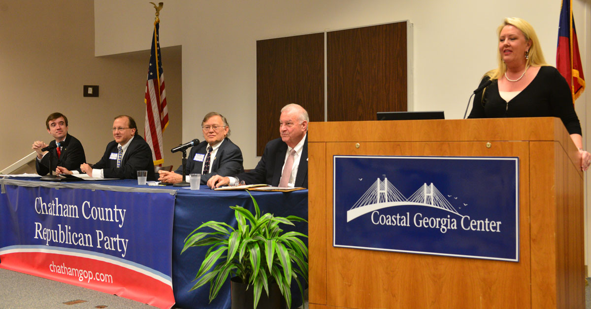 Chatham GOP Chair Debate