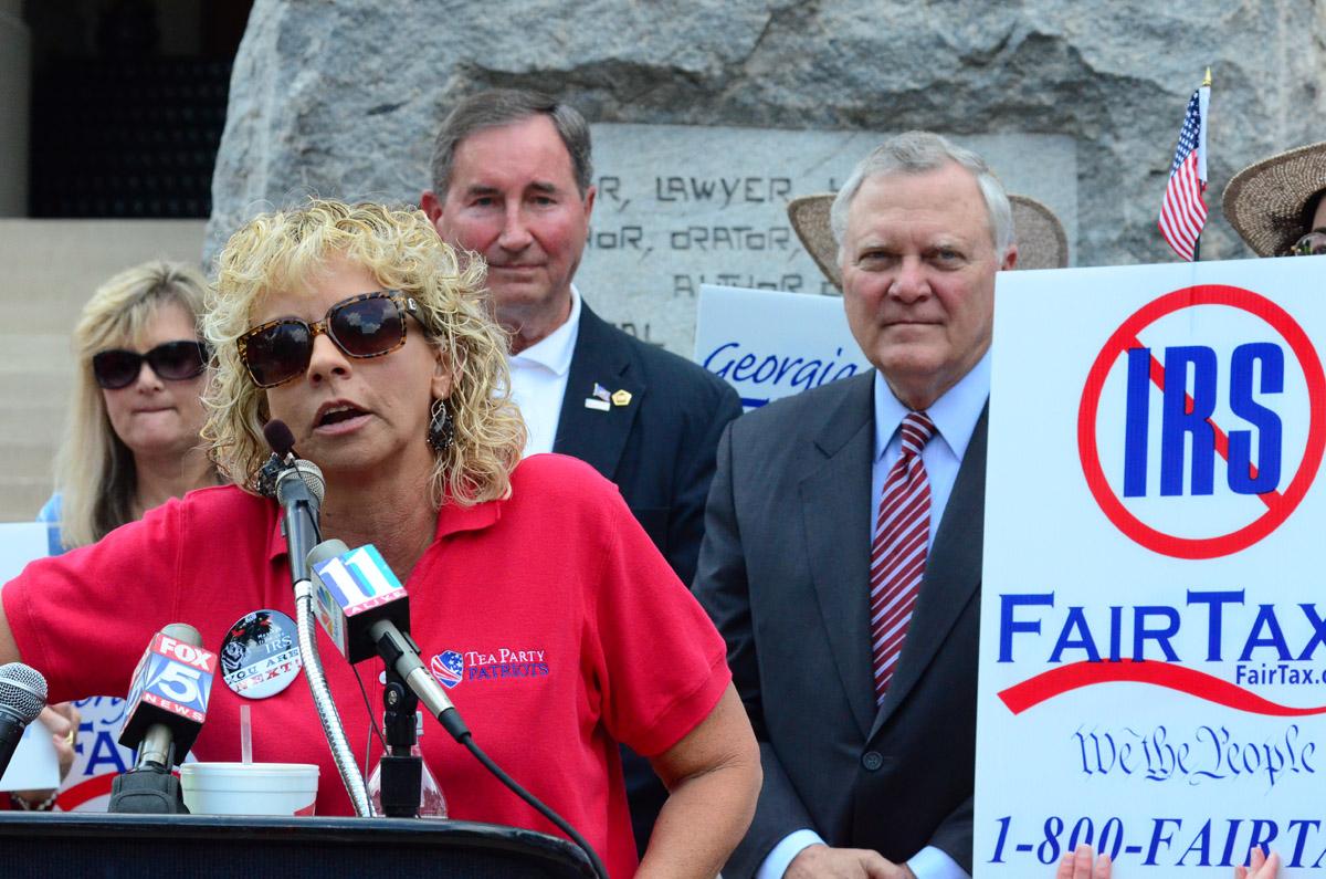 Debbie Dooley Tea Party Protest1