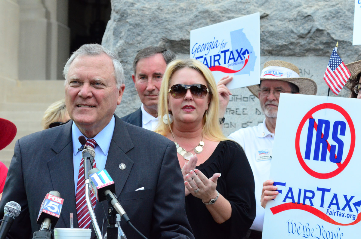 Nathan Deal Tea Party Protest5