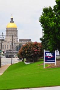 Deal Governor Sign Georgia Capitol Portrait