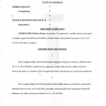 Amended Complaint by Debbie Dooley against Senator Don Balfour