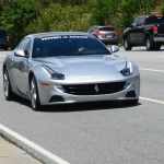 A Ferrari FF in Brookhaven and some gratuitous heron photos