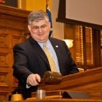 Senate President Pro Tem David Shafer Wields the Gavel — Like a Boss!