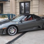 Ferrari F430 Spider at Phipps Plaza