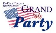 DeKalb GOP Logo