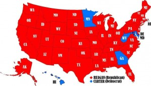 Reagan Map