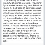 Bill Byrne running for Cobb Commission
