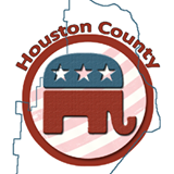 Houston County GOP LOgo