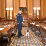 Georgia General Assembly: Some Heroes Have Four Legs