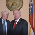 Phil Niekro (HOF): Guest of Rep. Lee Hawkins at Georgia Capitol
