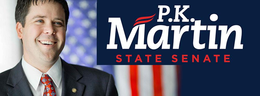 PK Martin state SEnate 9 Logo