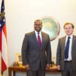 British Consul General:  Meets with Mayor Reed
