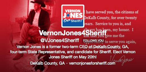 Vernon Jones for Sheriff