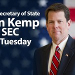 "Secretary of State Brian Kemp on the ""SEC Super Tuesday"" in 2016"