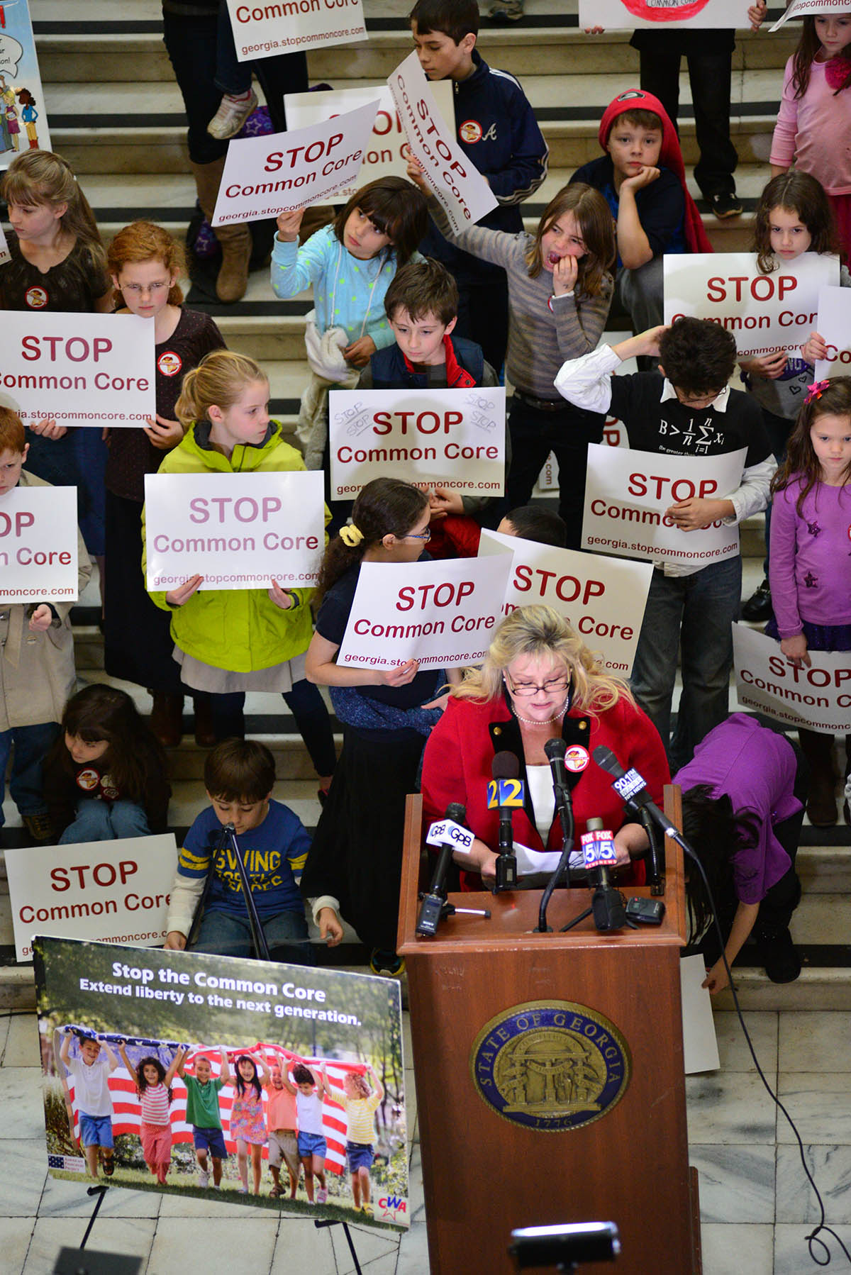 Common Core Press Conference