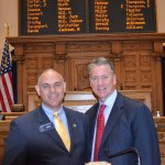 AUDIO: Tom Glavine Thanks Sen. Bruce Thompson & State Senate for Tom Glavine Day