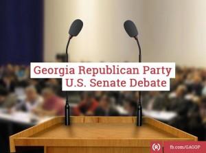 Ga GOP Senate Debate