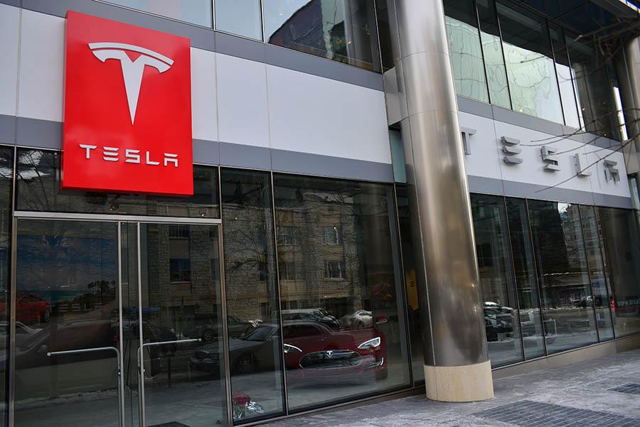 Tesla Motors Store Washington DC