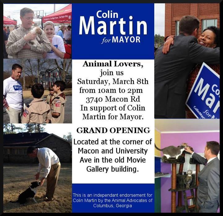 Colin Martin Animal Rescue Event
