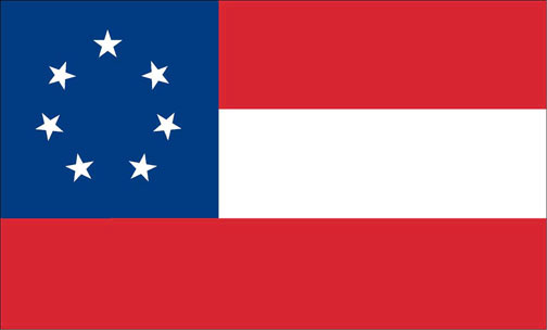 Confederate 1st National Flag 1