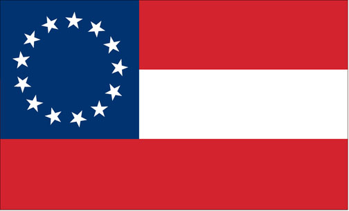 Confederate 1st National Flag 2