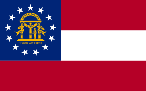 Georgia Current State Flag