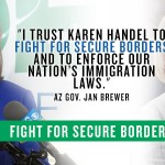 Karen Handel Senate: Endorsed by Arizona Gov. Jan Brewer