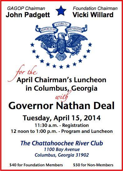 Muscogee Lunch April 15 2014