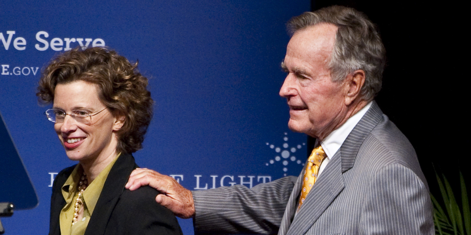 Obama Holds Forum On Community Service Hosted By George H.W. Bush
