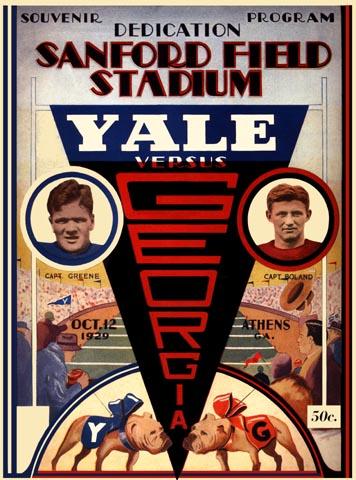 1929_Georgia_vs_Yale
