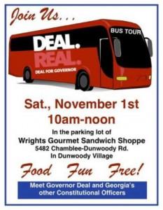 30 Oct Bus Dunwoody