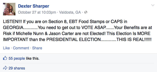 Dexter Sharper Facebook