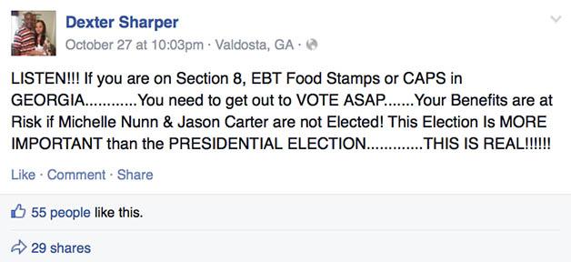 Dexter Sharper Facebook