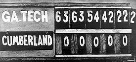 Tech Cumberland Scoreboard