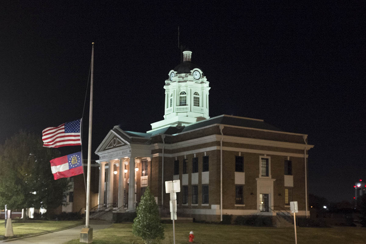 Flags Half Staff Barrow County 11172014