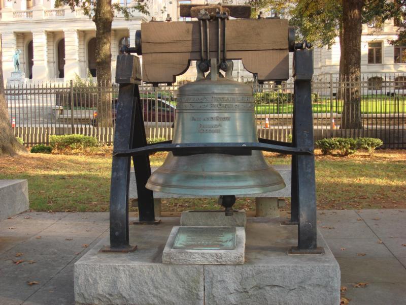 Georgia Liberty Bell photo by Georgia Building Authority