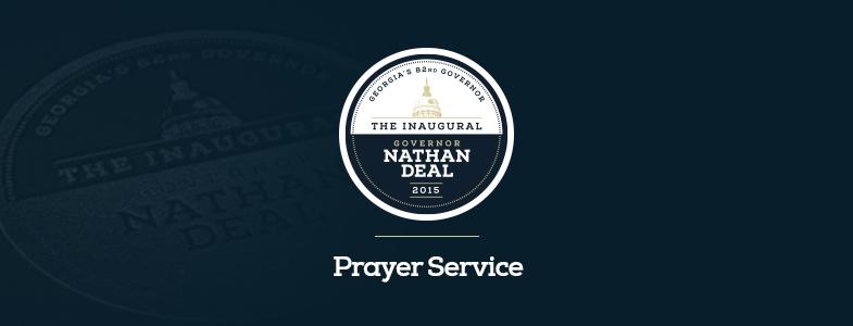 Inauguration Prayer Service